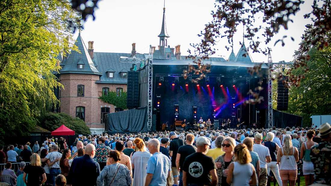 Ulf Lundells turnépremiär på Sofiero i Helsingborg.