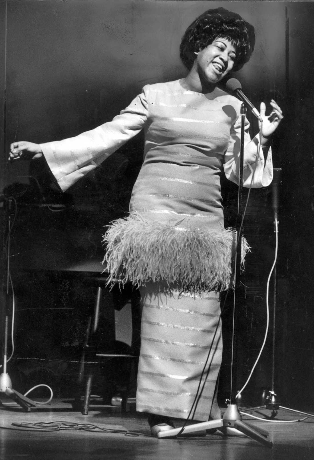 I maj 1968 uppträdde Aretha Franklin på Berns i Stockholm.