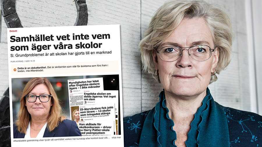 Att som Gunilla Svanstorp antyda att IES skulle motarbeta svenska myndigheter är helt grundlöst. Vi stödjer fullt ut strävan om transparens och att enbart seriösa huvudmän ska driva landets skolor. Replik från Carola Lemne, styrelseordförande.
