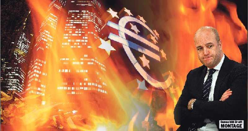 EUROGEDDON Den ekonomiska krisen i Europa bara växer och växer medan Fredrik Reinfeldt tittar åt ett annat håll.