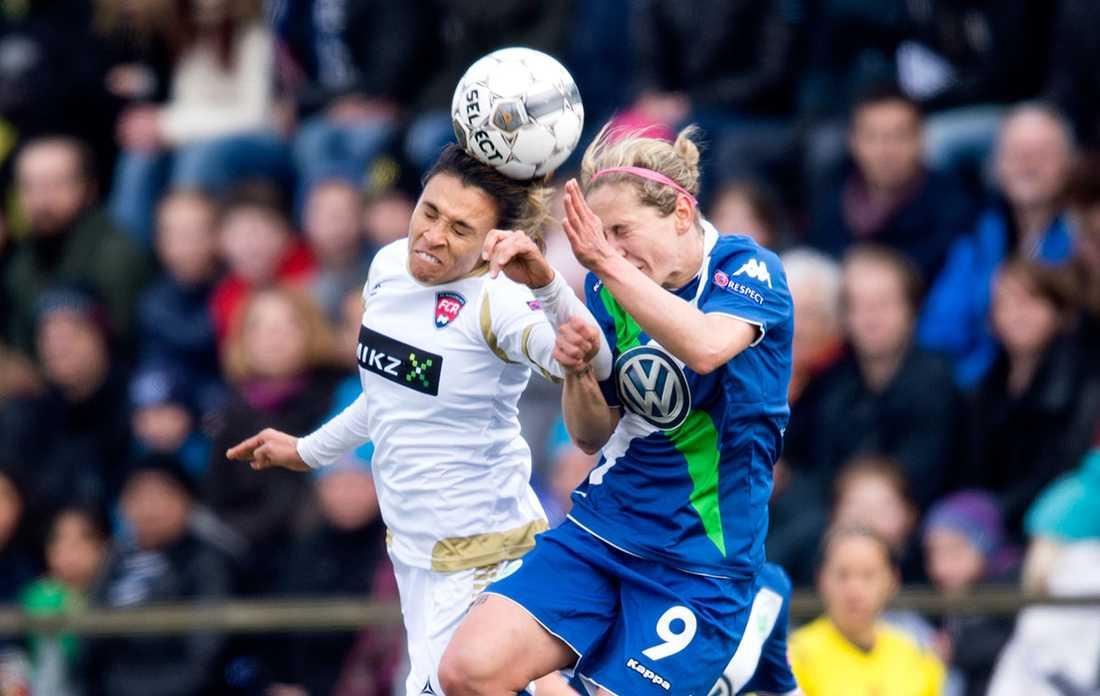 Förra säsongen åkte Rosengård ut mot Wolfburg i Champions league.