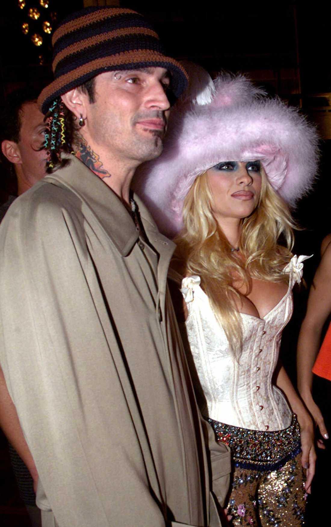 Originalet, Pamela Anderson och Tommy Lee.
