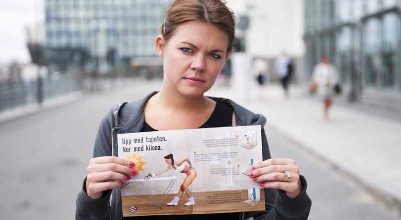 Tveksamt budskap Byggjätten Hornbachs nya reklam: Byggkoll?