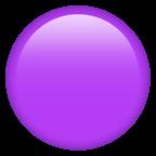 Lila cirkel.