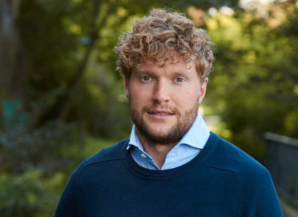 """Filip Sjöström, en av """"Frihetsrörelsens"""" ledare."""
