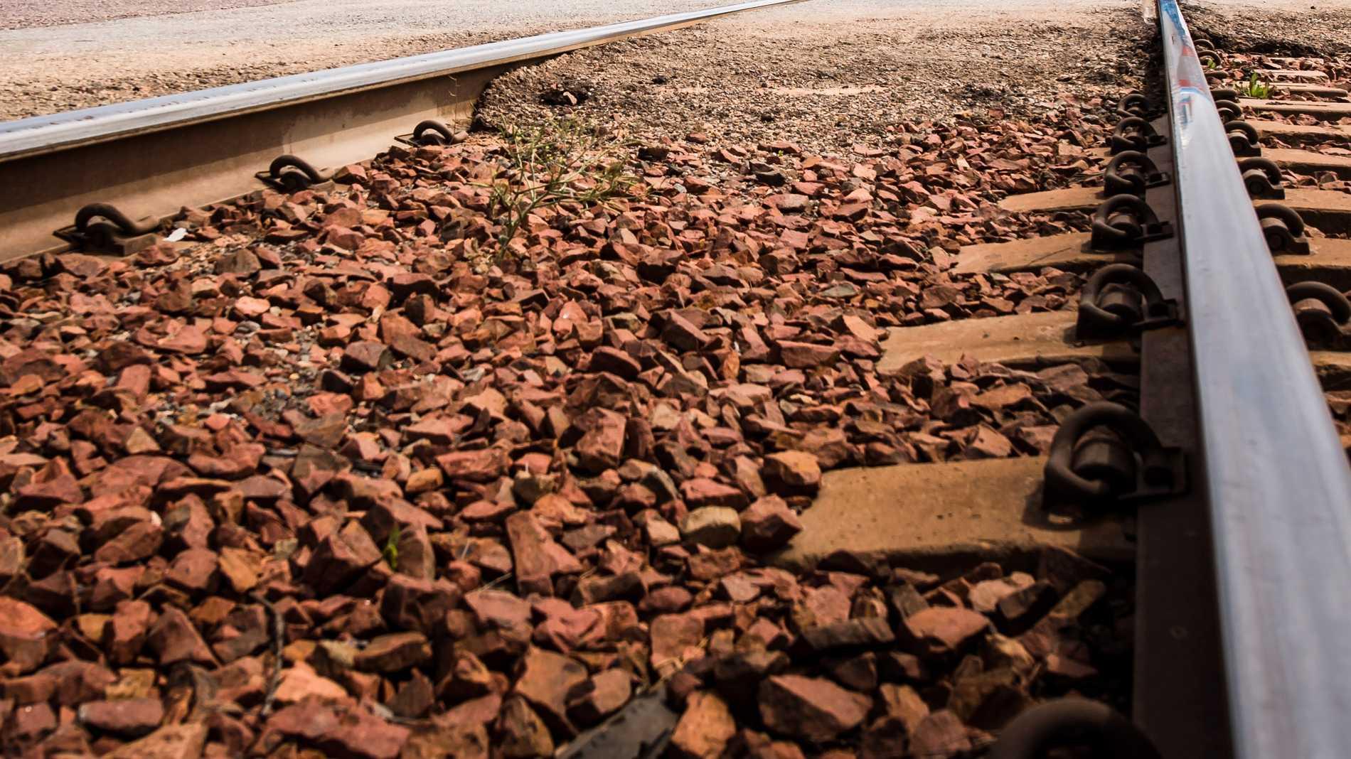 Tåget spårade ur norr om Melbourne. Arkivbild.