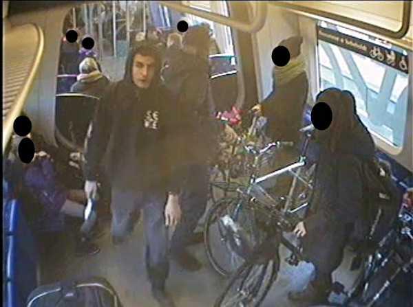 Den misstänkte terroristen hette Omar Abdel Hamid El-Hussein. Polisens övervakningsfilm från tidigare tillfälle.