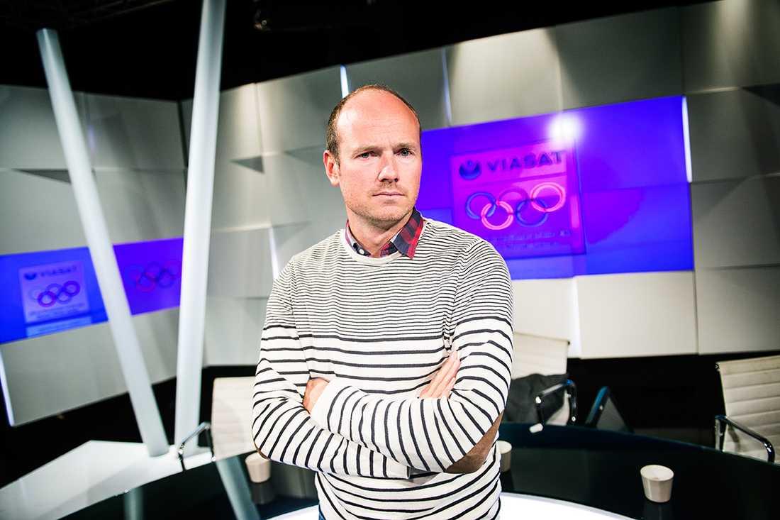 """Erik Westerberg, sportchef på Viasat. """"Vi är ödmjuka inför den här uppgiften, säger han om MTG:s sändningar från OS."""