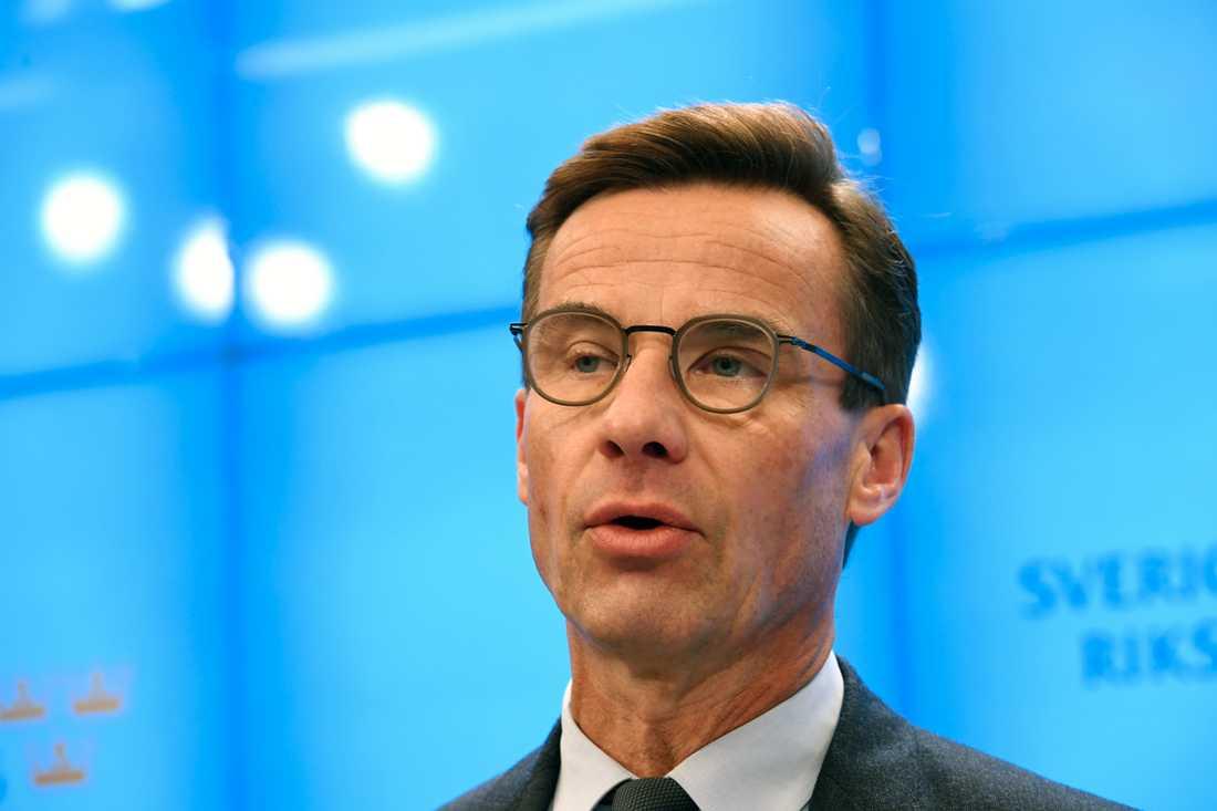 Ulf Kristersson ger upp försöken att bilda regering