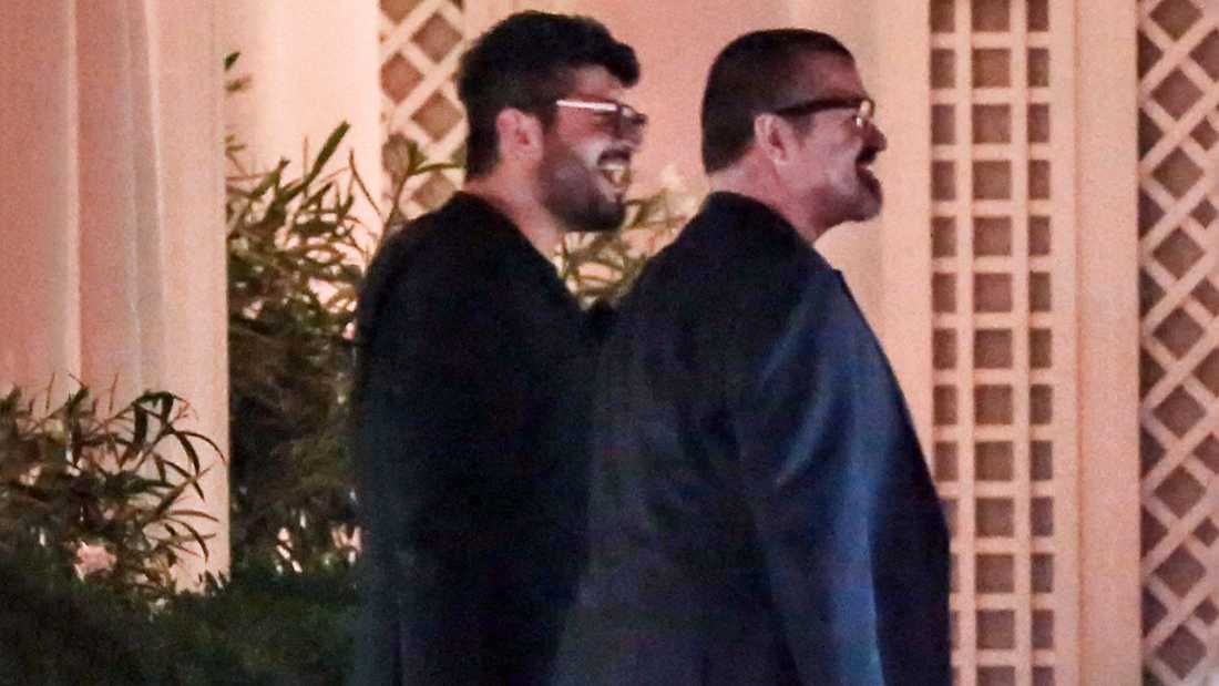 Fadi Fawaz och George Michael var ett par i fem år.