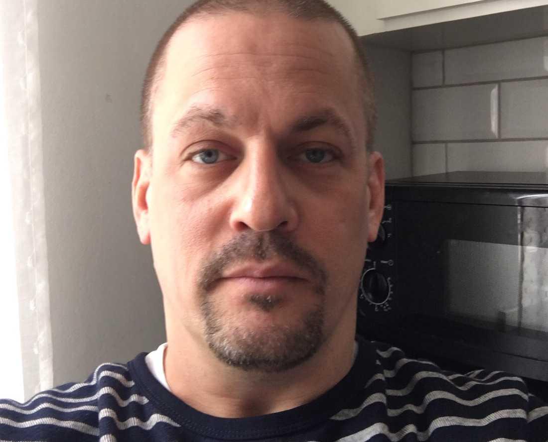 Anders Lundin, 43, från Degerfors har polisanmält Björn Söder.