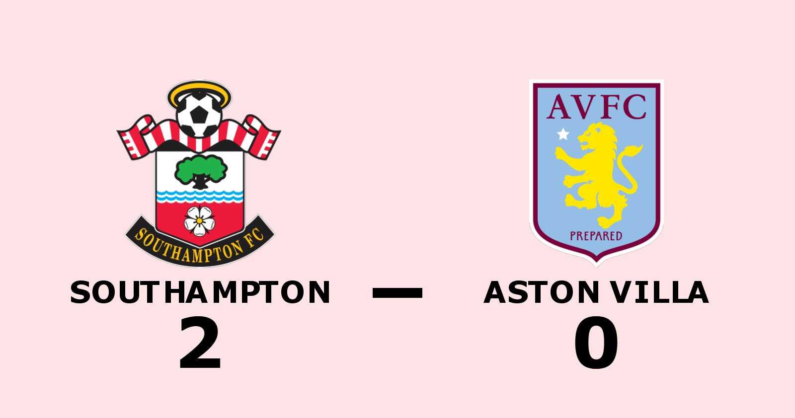 Armstrong och Long matchvinnare när Southampton vann mot Aston Villa