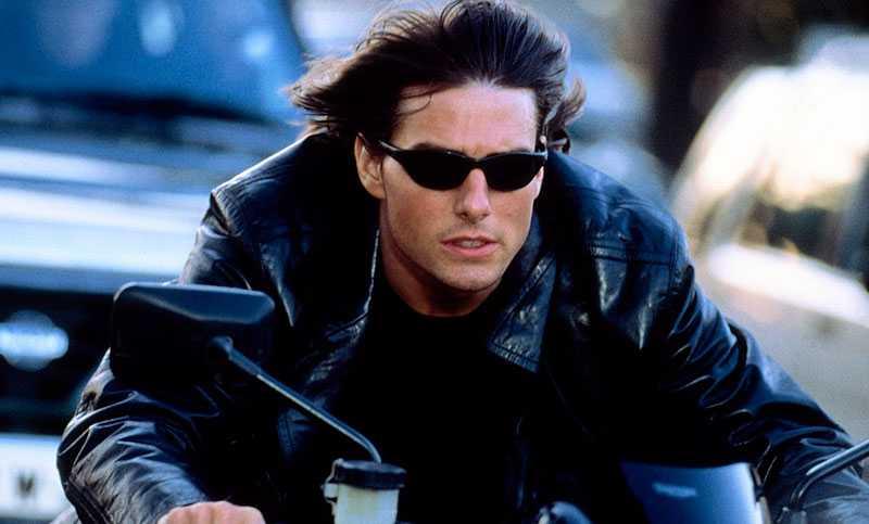 """Tom Cruise, här i den andra """"Mision impossible""""-filmen, är helt klar för att göra rollen en fjärde gång."""