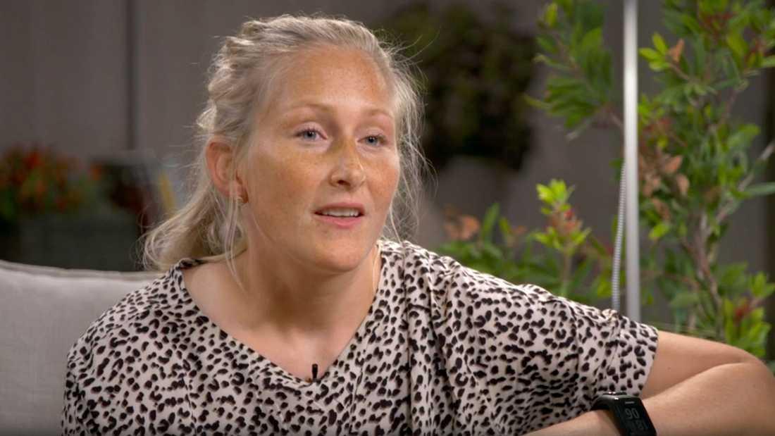 """Kim Martin berättar i """"Mästarnas mästare""""."""