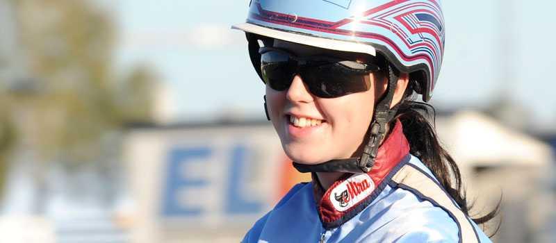 Anna Isabelle Karlsson jagar sin första V75-seger.