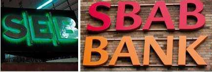 De två bankerna har ett samarbete med låneinstitutet Bluestep, som erbjuder lån till mycket högre ränta än bankerna.