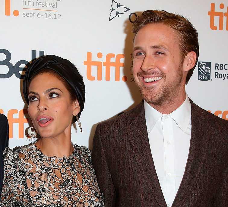 STORK LANDADE Eva Mendes och Ryan Gosling är nyblivna föräldrar.