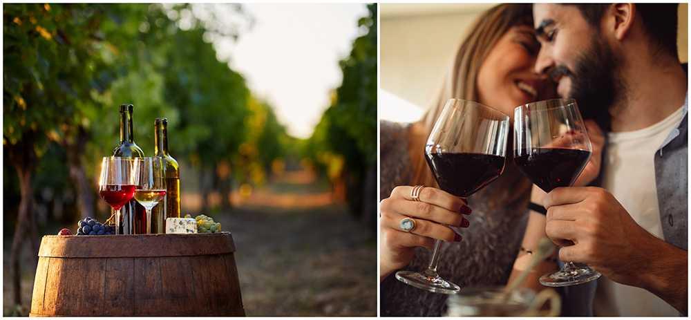 I Pomorie skålar man i vin för kärleken.