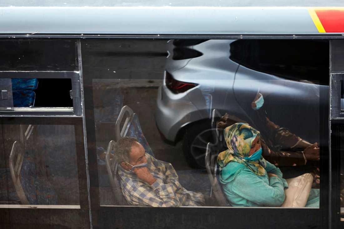 De nya reserestriktionerna berör över hälften av Marockos invånare. Arkivbild.