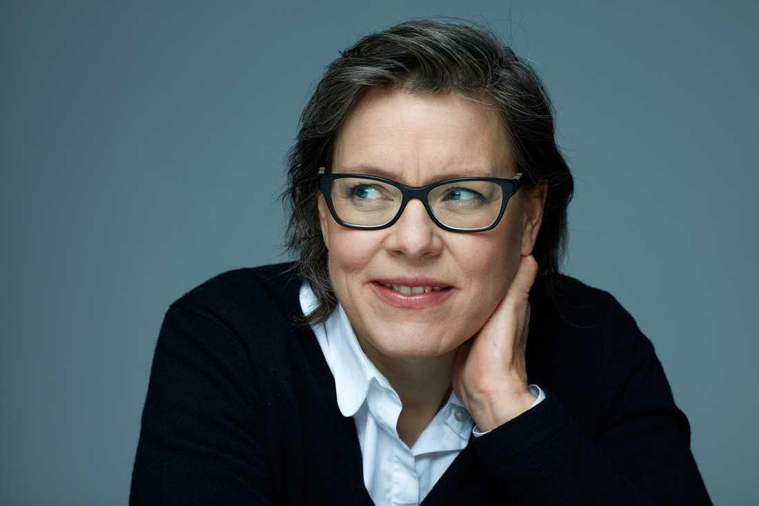 """Lena Andersson (född 1970) är aktuell med sin nya roman """"Dottern""""."""