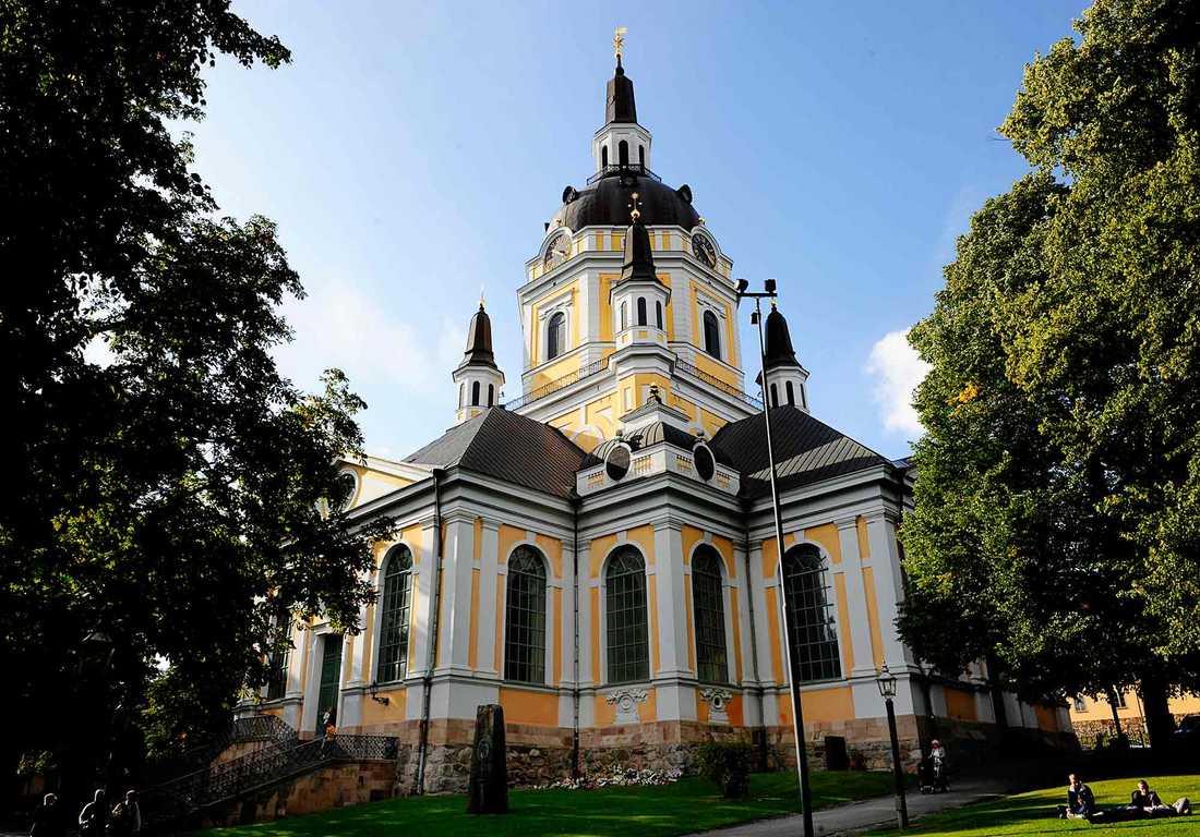Katarina kyrka på Södermalm i Stockholm.