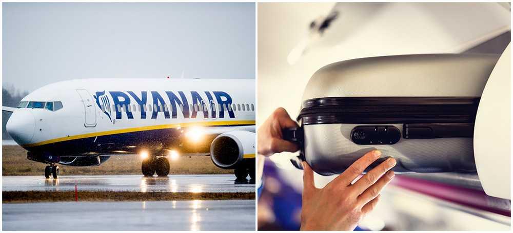 Nu Inför Ryanair Nya Handbagageregler