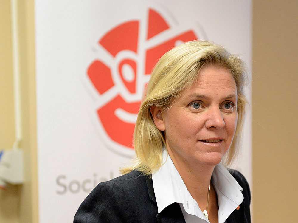 Magdalena Andersson (S), ekonomisk-politisk talesperson.
