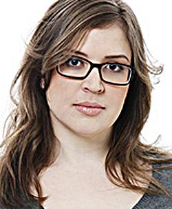 Julia Skott, journalist och upphovskvinnan till bloggen Kroppsbilder.
