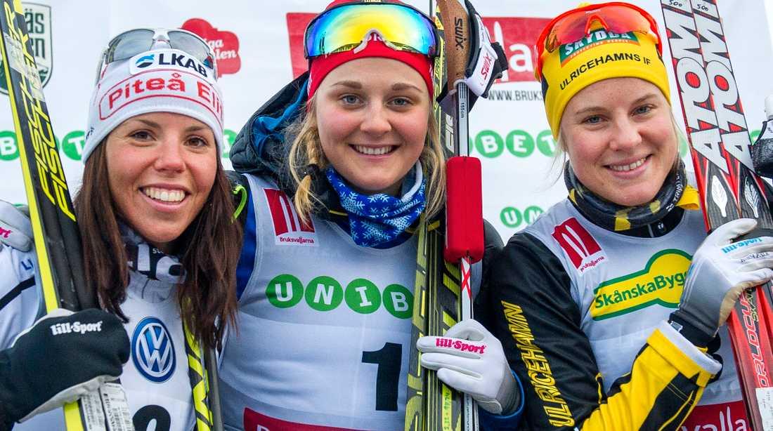 Kalla, Stina och Falk kommer inte satsa på Tour de Ski