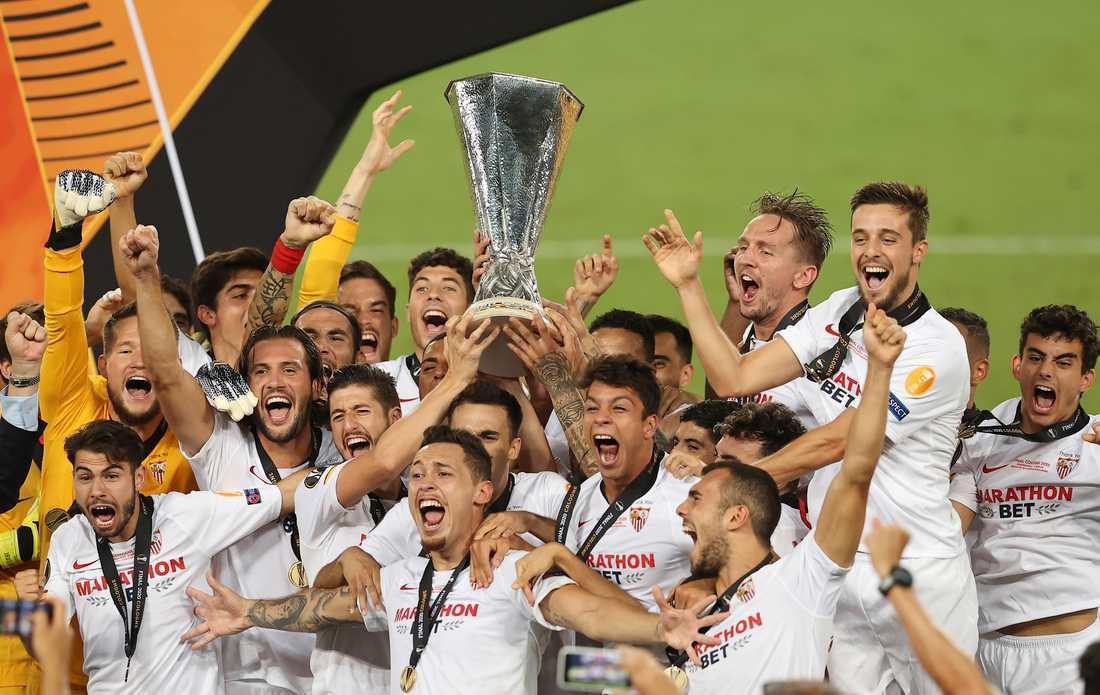 Sevilla är Europa League-mästare för sjätte gången.