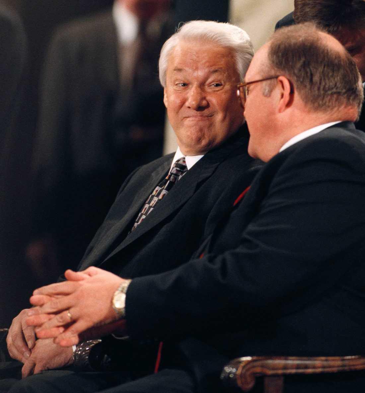 Rysslands president Boris Jeltsin förvånade 1997 sin värd Göran Persson genom att bestämt hävda att en rysk gasledning skulle dras genom Sverige.