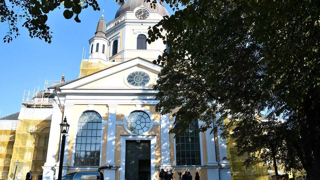 Katarina kyrka i centrala Stockholm.