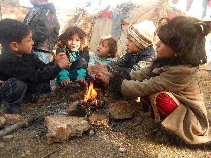 """""""Folket behöver hjälp. Barnen är väldigt utsatta"""", säger Sara."""