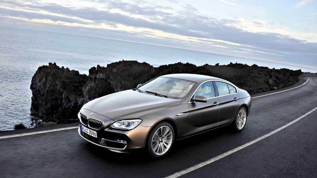 BMW 6-serie Gran coupé Foto: BMW