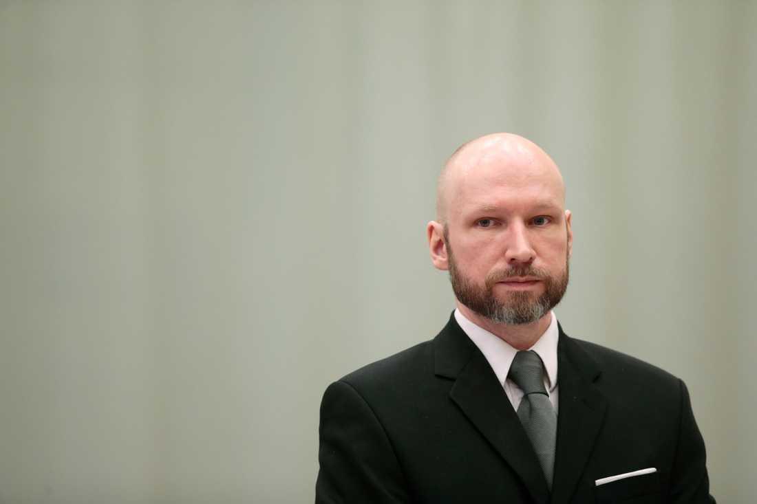 Anders Behring Breivik är en i raden av högerextremistiskt motiverade gärningsmän de senaste åren. Arkivbild.