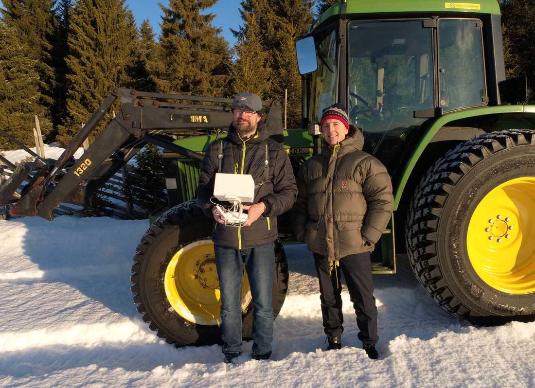 Norska Vemund Hagen och kompisen Ivar Brandvols projekt har fått mycket uppmärksamhet.