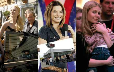 EKOSMARTA MORSOR Nicole Kidman, Sandra Bullock och Gwyneth Paltrow, med sonen Moses, är alla miljömedvetna