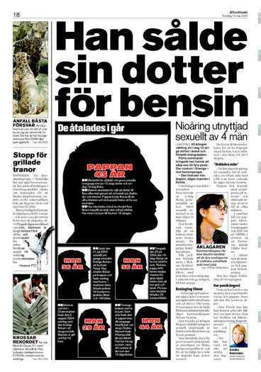 Aftonbladet 12 maj 2005.