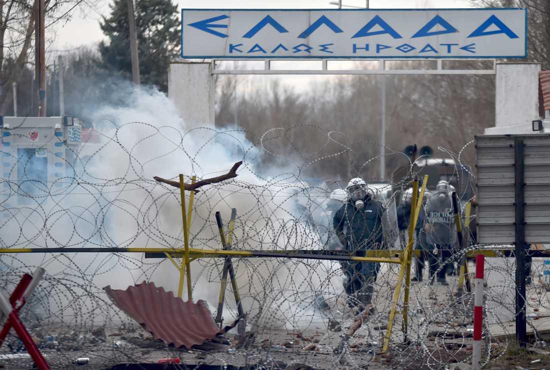 Turkiet har öppnat gränsen mot Grekland.