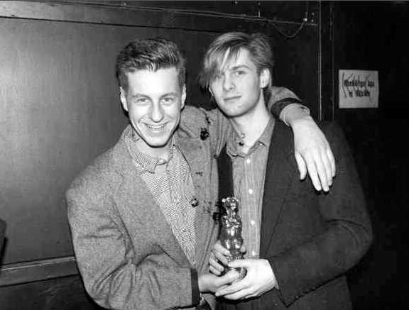 Söta Mauro Scocco och Johan Ekelund i Ratata 1984.