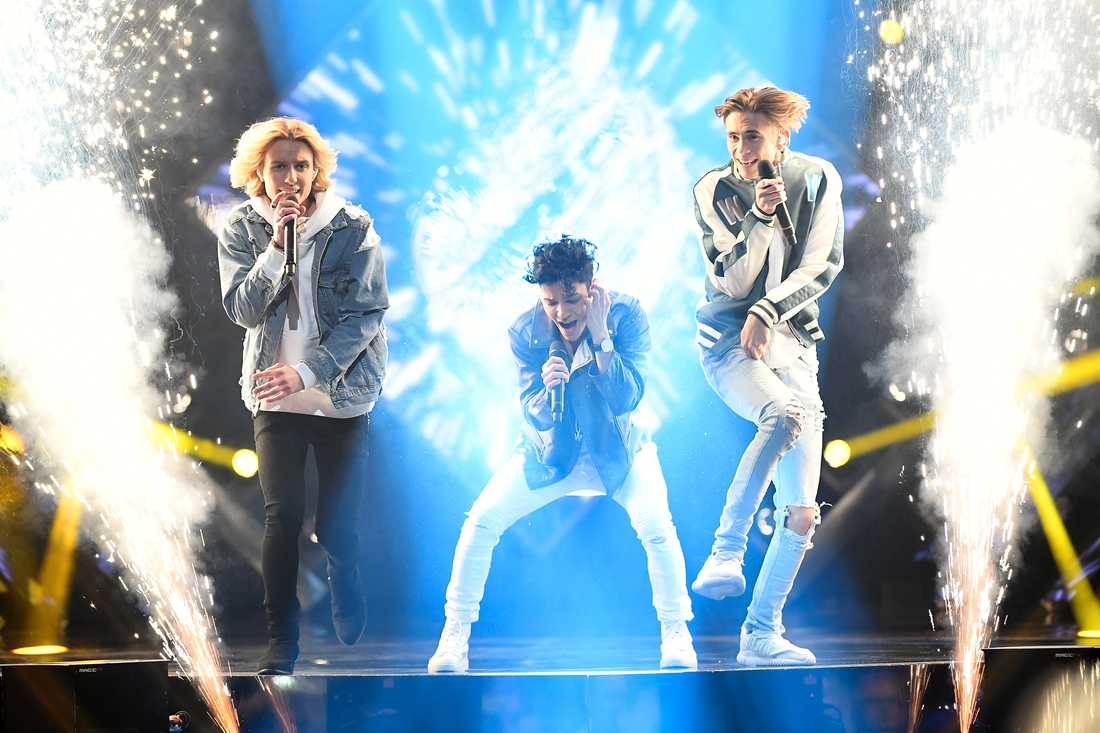 FO&O i Melodifestivalen 2017.
