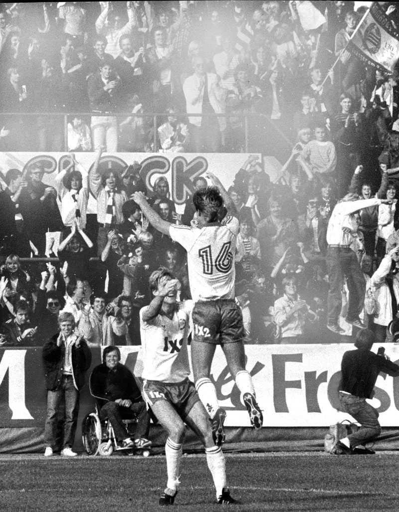 25 september 1982 I grundseriens sista match vann Hammarby över årets giganter IFK Göteborg.