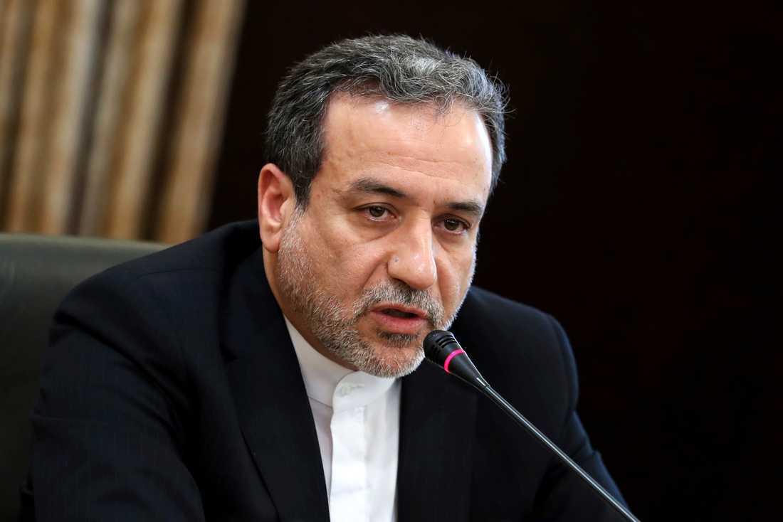 Irans vice utrikesminister Seyed Abbas Araghchi. Arkivbild.
