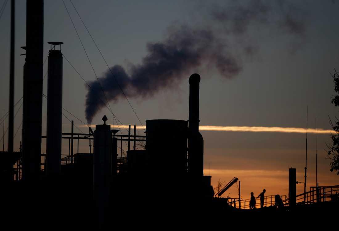 Trots att världen står still så har det inte gett särskilt stor effekt på miljön.