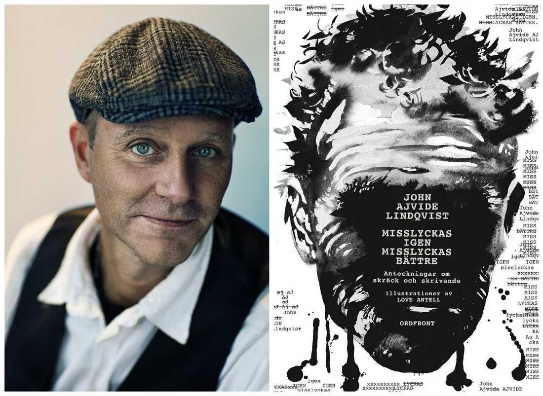 John Ajvide Lindqvist har gjort en Stephen King och skrivit om sitt skrivande i boken Misslyckas igen, misslyckas bättre