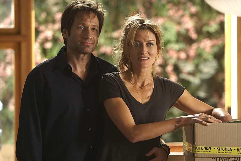 """Nej, nej, nej, jag vill inte ha ett öppet förhållande som Hank och Karen i """"Californication""""."""