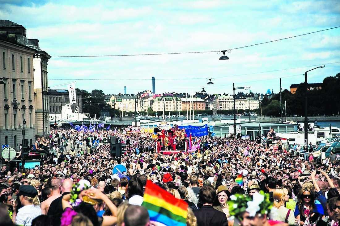 …och Pridefestivalen.