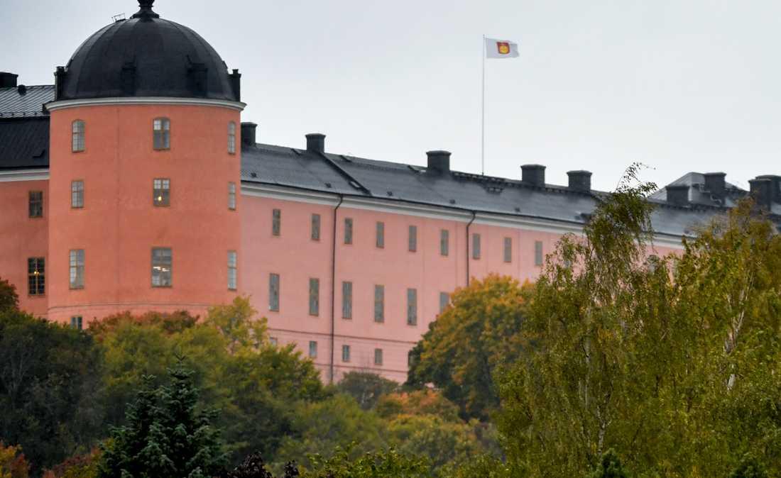 Uppsala slott. Arkivbild.