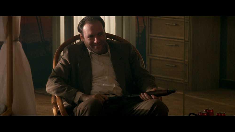 """En tidig roll för Gandolfini – i filmen """"True Romance"""" (1993)."""
