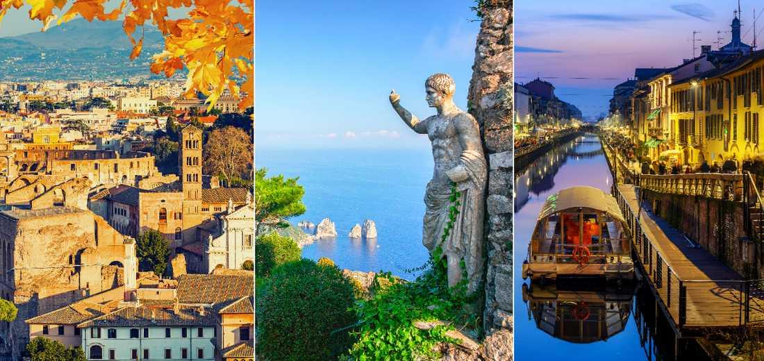Italien har en del att erbjuda även på hösten.